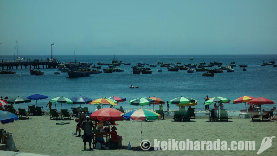 リマのビーチ