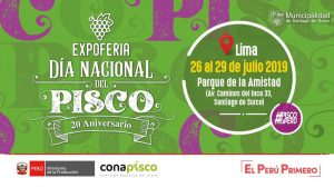 Expoferia Día Nacional del Pisco 2019