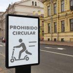 リマ市内の電動スクーター道交法で規制へ