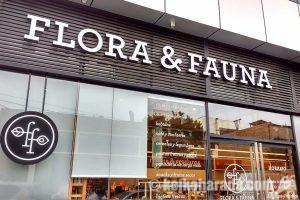 お気に入りのオーガニックショップ Flora & Fauna