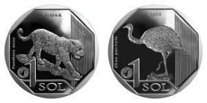 LatiNum 2018/2019 ペルーの2硬貨受賞