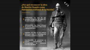 マルティン・チャンビの全作品 ペルー無形文化遺産に登録