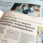 ペルー保健省 4人のコロナウイルス感染を否定