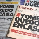 ペルー・コロナ事情 合言葉は#YoMeQuedoEnCasa(私は家にいます)
