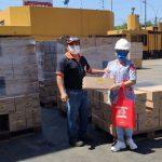 ペルー味の素 貧困家庭に37万5000ソレス分の食糧を寄付