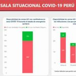 ペルーのコロナ重症患者用ICU残り175床