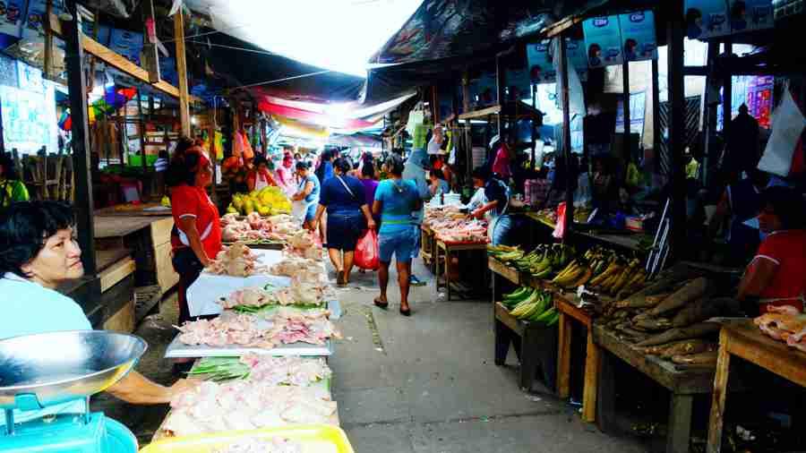 ベレン・バハ市場