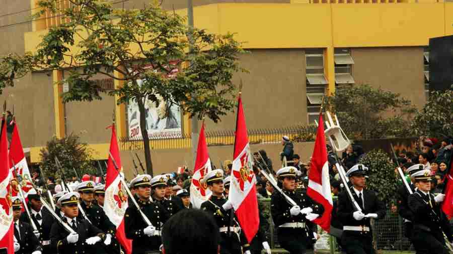 独立記念日のパレード