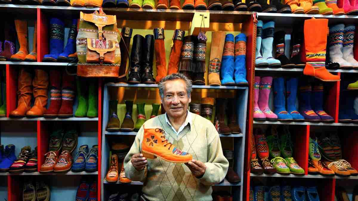 クスコのオーダー靴屋さん