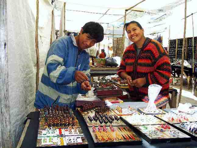 ピサックの伝統市場