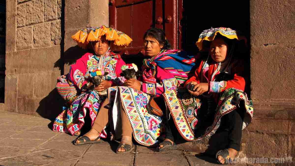 ペルーの先住民女性