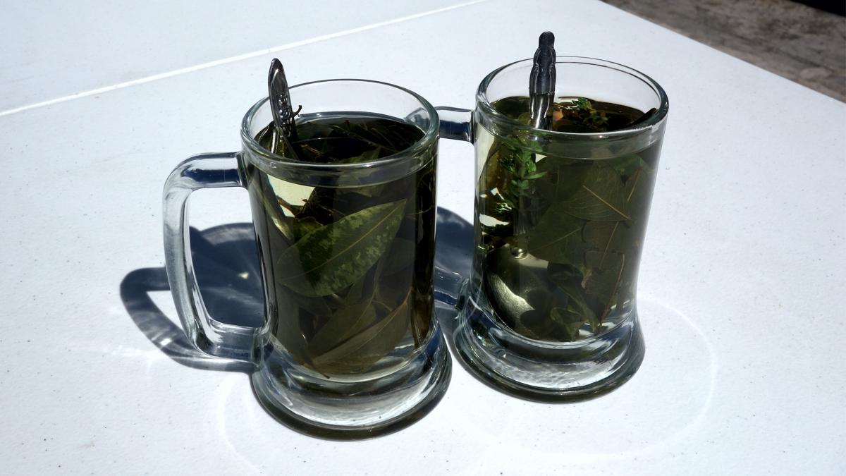 ムニャとコカのミックス茶