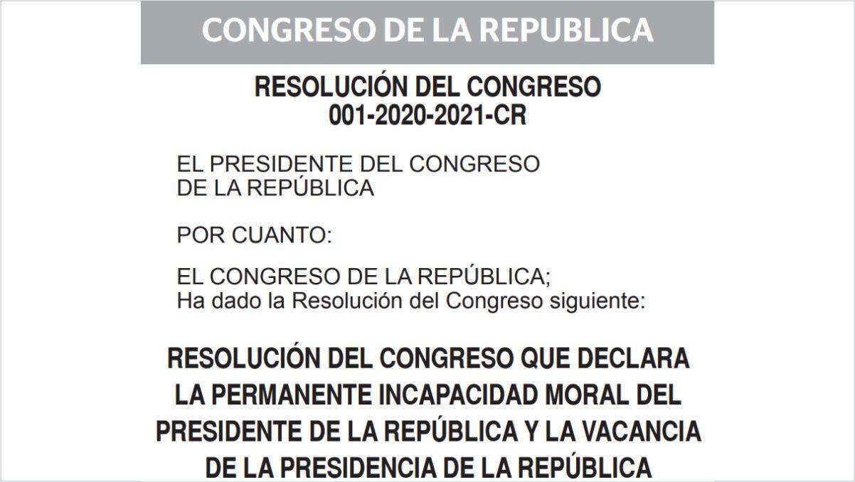 ビスカラ大統領罷免