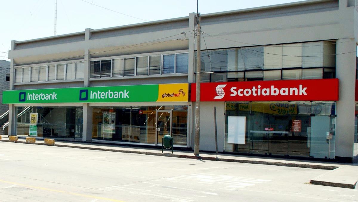 ペルーの銀行