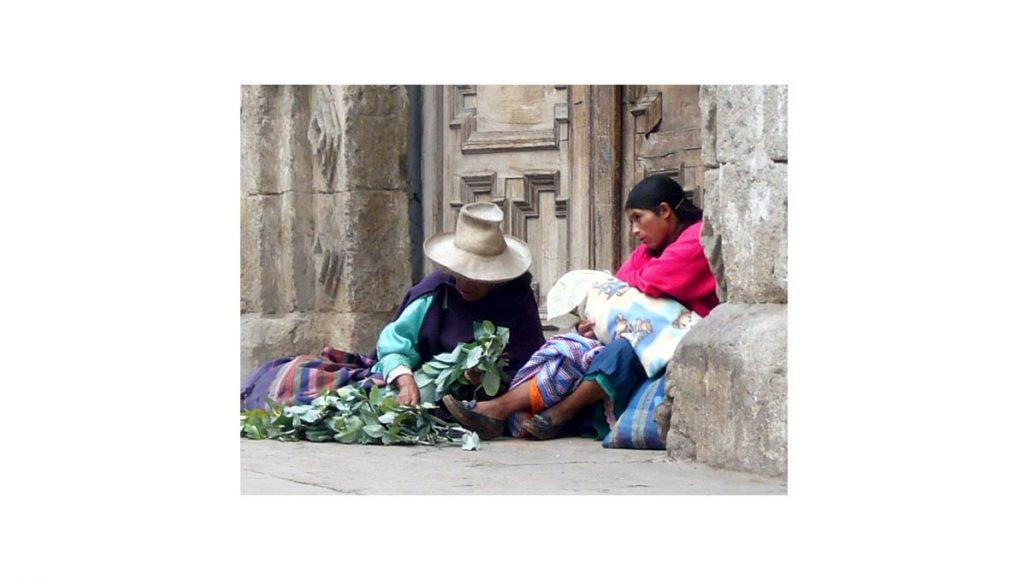 カハマルカ 路上の女性