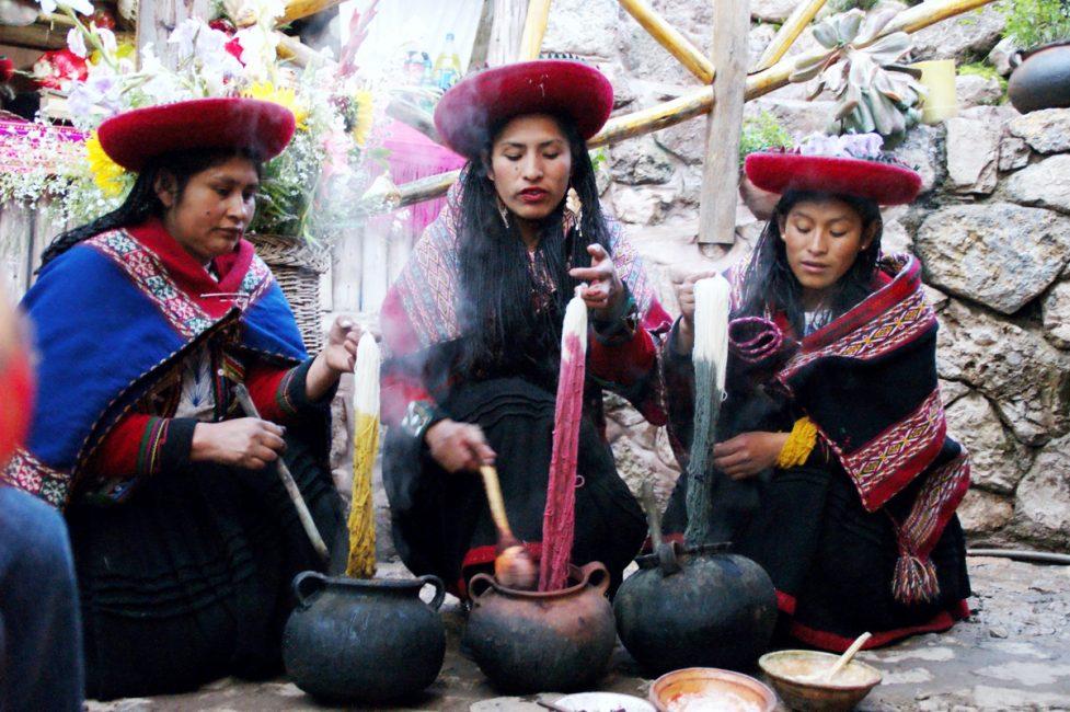 チンチェーロの女性たち