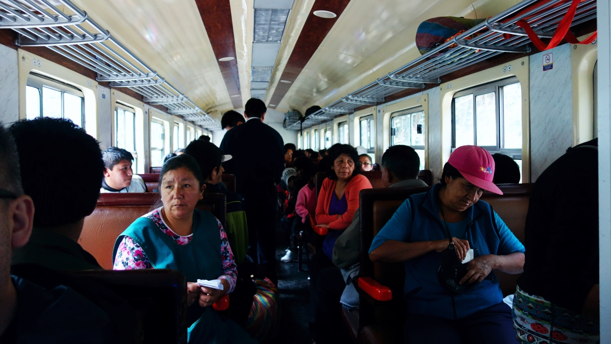 ペルーレイルのローカル列車